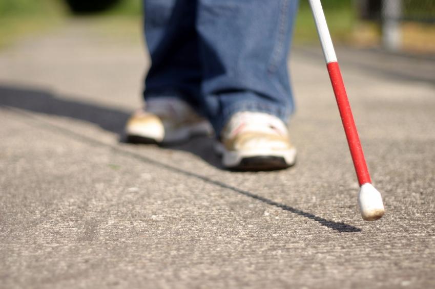 acessibilidade para deficientes visuais