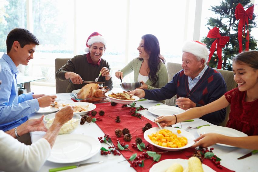 almoço de natal istock getty images doutíssima