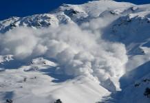 Avalanche na neve
