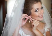 Brincos de noiva podem ser grandes