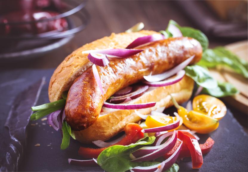 Hot dog vegetariano é opção pra quem não come carne