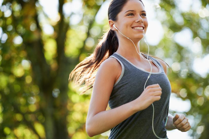 Crie uma playlist para correr