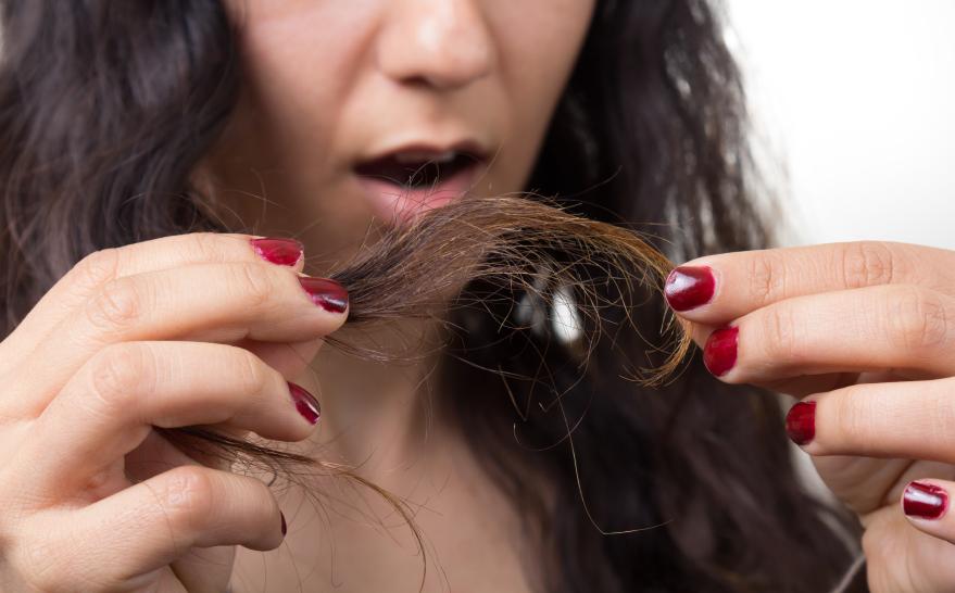 cabelo estragado