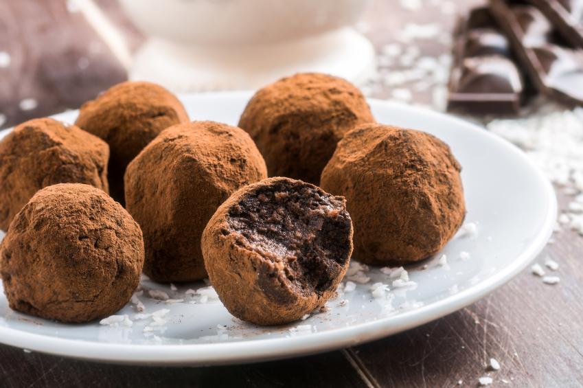 chocolate vegano com cacau