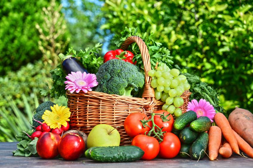 frutas e legumes para dieta