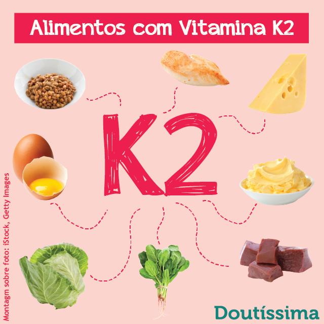 vitamina K2 nos alimentos