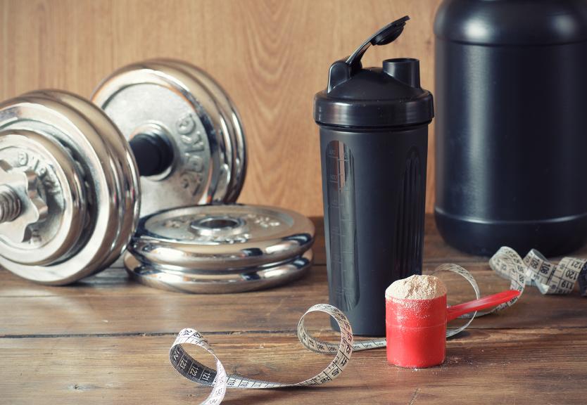 pote de whey protein