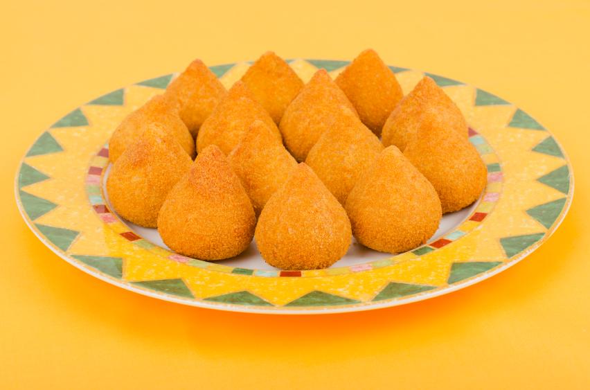 coxinha de batata-doce