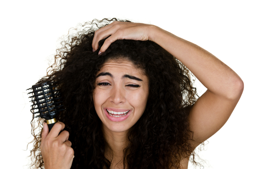 Pare de ter dor de cabeça com o cabelo embaraçado