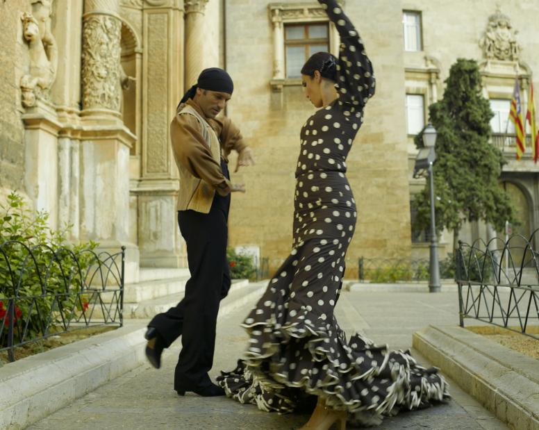 dança espanhola