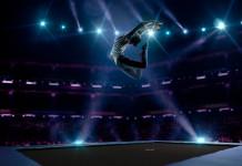 ginástica de trampolim