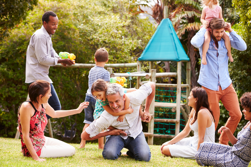 Cuidados com as crianças em locais públicos