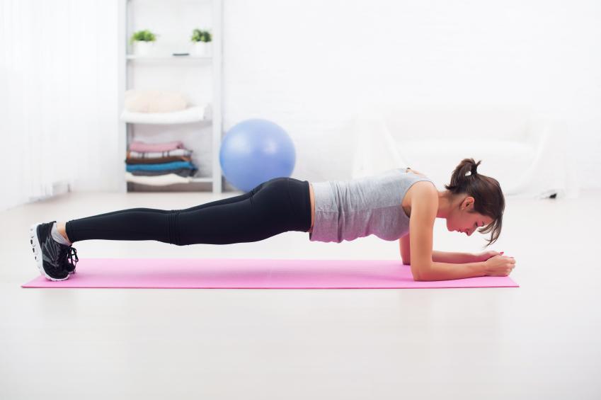 Exercícios de prancha são eficientes?