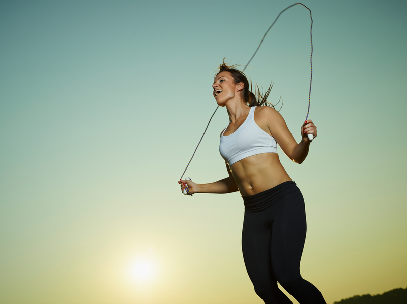 Benefícios de pular corda