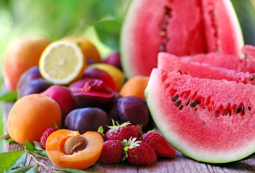 Índice glicêmico das frutas