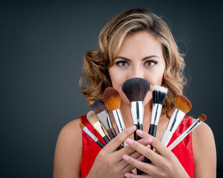 Pincéis básicos para maquiagem