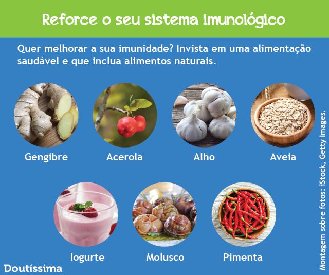 Baixa imunidade causa problemas de saúde