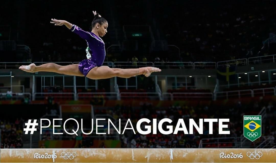 Flavinha Saraiva é a nova queridinha da ginástica (Foto: Instagram)