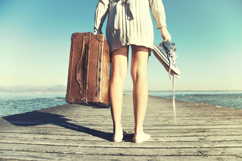 Descubra por que viajar sozinha pode revelar muito de si mesma (Foto: Istock)
